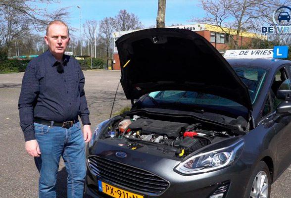 Controle binnen-en buiten de auto (schakel)