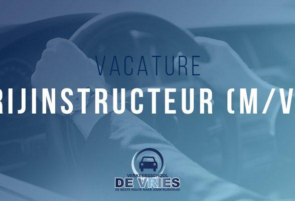 Verkeersschool De Vries is op zoek naar een beginnende enthousiaste rijinstructeur (m/v)