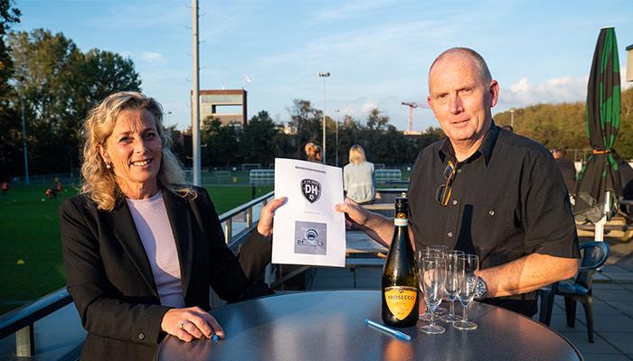 Verkeersschool De Vries en SV Die Haghe slaan handen ineen